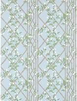 Zoffany Jasmine Lattice Wallpaper
