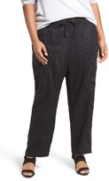 Eileen Fisher Plus Size Women's Organic Linen Cargo Pants
