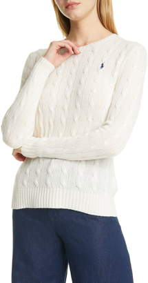 Polo Ralph Lauren Julianna Wool & Cashmere Cable Sweater