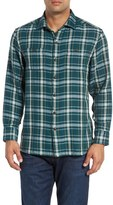 Tommy Bahama Men's 'Flannel Del Fuego' Plaid Flannel Shirt