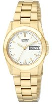 Citizen Women's EQ0562-54A Analog Display Japanese Quartz Gold Watch