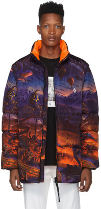 Marcelo Burlon County of Milan Multicolor Down Fantasy Jacket