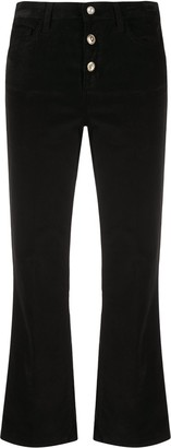 Liu Jo Cropped Flared Trousers