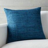 """Crate & Barrel Trevino Aegean Blue 20"""" Pillow"""