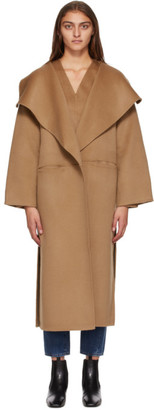 Totême Tan Wool Annecy Coat
