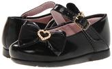 Pampili Angel 4696 (Infant/Toddler) (Black 3) - Footwear