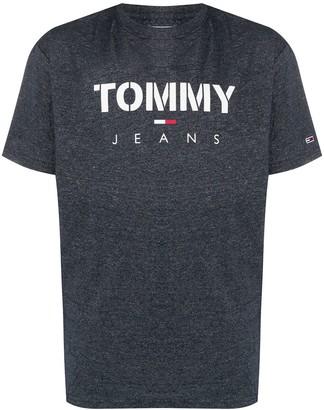 Tommy Jeans logo-print crew neck T-Shirt