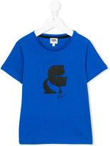 Karl Lagerfeld printed T-shirt - kids - Cotton - 8 yrs