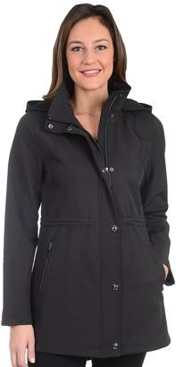 Fleet Street Women's Anorak Soft Shell Coat