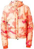 Kru camouflage hooded down jacket