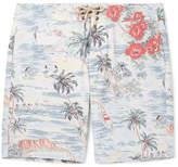 Faherty Long-Length Printed Swim Shorts