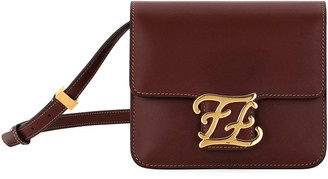 Fendi Karligraphy King Calf Shoulder Bag