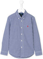 Ralph Lauren button-down gingham shirt