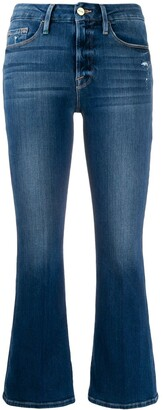 Frame Kick Flare Jeans