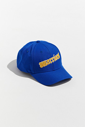 Mitchell & Ness Old English Golden State Warriors Snapback Hat