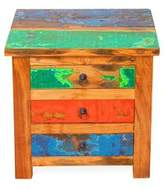 Eco Chic Ecochic Lifestyles First Mate Reclaimed Wood End Table EcoChic Lifestyles