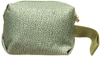 Borbonese Borbonse Military Green Nylon Pouch