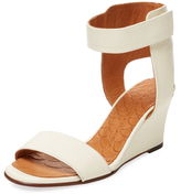 Chie Mihara Ruter Leather Wedge Sandal