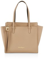 Salvatore Ferragamo Medium Amy Leather Tote