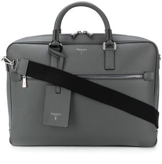 SERAPIAN Textured Briefcase