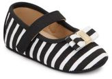 Kate Spade Baby's Striped Mary Jane Flats