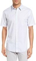 James Campbell Men's Harvard Print Sport Shirt