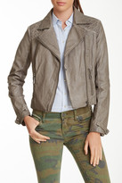 Blanc Noir BNCI by Quilted Trim Motor Jacket