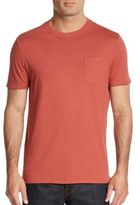 Saks Fifth Avenue Cotton Pocket Tee