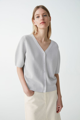 Cos Short-Sleeved Cardigan