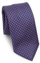 Saks Fifth Avenue COLLECTION Box Check Silk Tie