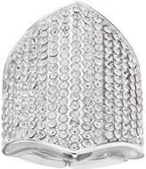 JLO by Jennifer Lopez Pave Shield Stretch Ring