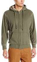 Stanley Tools Men's Workwear Sueded Hooded Fleece with Cozy Sherpa Lining