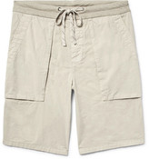James Perse Slim-Fit Cotton-Poplin Cargo Shorts