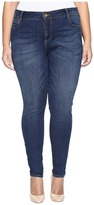 KUT from the Kloth Plus Size Mia Toothpick Skinny Jeans in Repose