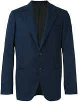 Caruso smart buttoned blazer - men - Cupro/Wool - 48