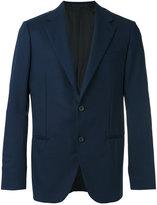 Caruso smart buttoned blazer - men - Cupro/Wool - 50