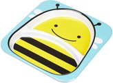Skip Hop Zoo Tableware, Divided Plate, Brooklyn Bee