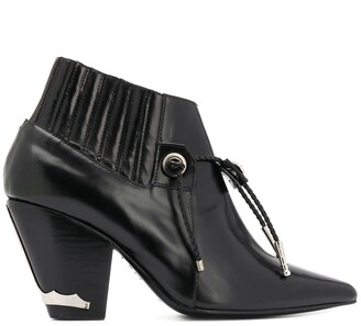 Toga Pulla pointed-toe ankle boots