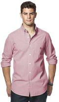 Chaps Men's Classic-Fit Plaid Poplin Shirt
