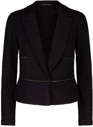 St. John Chain Trim Boucle Jacket
