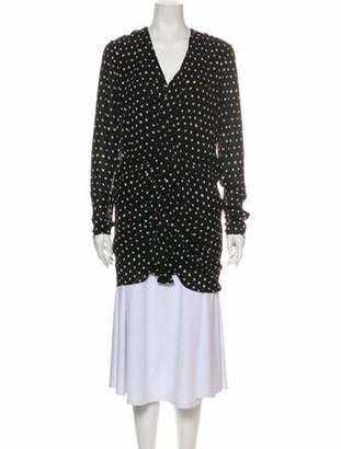 Saint Laurent 2017 Mini Dress Black