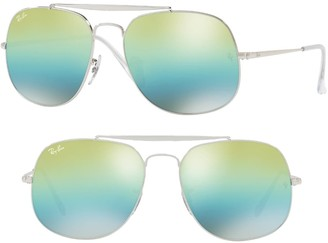 Ray-Ban Icons 57mm Aviator Sunglasses