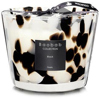 "Baobab Collection Black Pearls Candle - Black Rose & Ginger 6"""