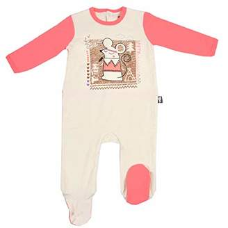 Camilla And Marc Baby 2ply Totem Party Pyjamas - Size 6 Months (68 cm)