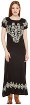 Scully Caprice Maxi Dress with Emboidery Women's Dress