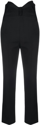RED Valentino Bow-Detail High-Waist Trousers