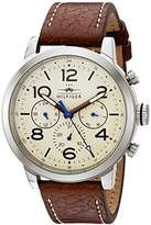 Tommy Hilfiger Men's 1791230 Jake Analog Display Japanese Quartz Brown Watch