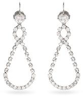 Miu Miu Crystal-encrusted drop earrings