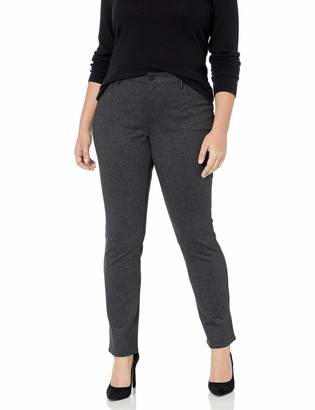 NYDJ Women's Plus Size Ponte Marilyn Straight Pant