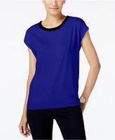 MICHAEL Michael Kors Velvet-Trim T-Shirt